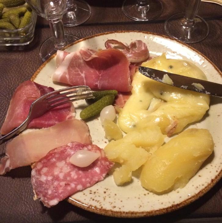 Raclette Annecy France La Freti